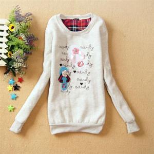 CGC0989grey - Pretty Slipper Sweater